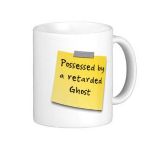 Funny sticky note insult Mug