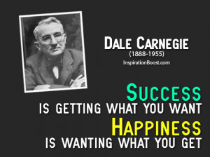 ... Quotes About Success And Happiness Famous quotes by dale carnegie