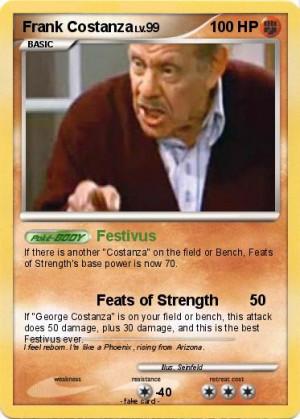 Frank Costanza Festivus Pokemon frank costanza