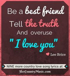 Country Music Lyrics: Top 10 Country Love Song Lyrics Go to ...