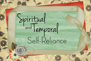 ... and Temporal Self-Reliance: What does it mean be self-reliant