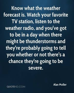 Alan Moller - Know what the weather forecast is. Watch your favorite ...