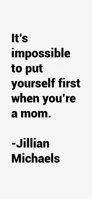 Return To All Jillian Michaels Quotes