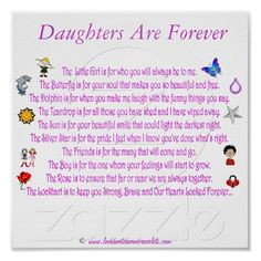 For my three daughter & three granddaughters
