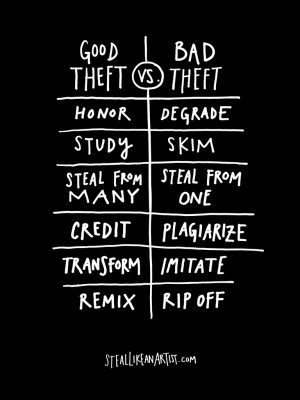 Why Stealing is Sometimes Good