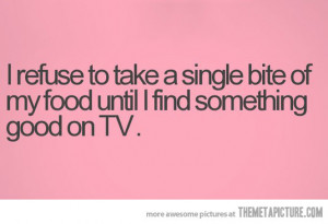 Funny photos funny watching TV eating food
