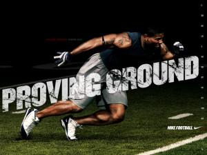 NFL Nike Football Motivational Proving Ground Ladainian Tomlinson ...