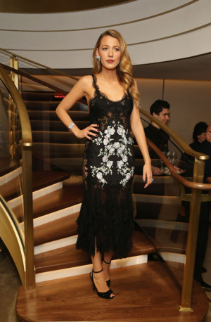 Blake Lively at Van Cleef & Arpels Celebration