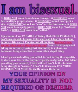 Bisexuality Manifesto