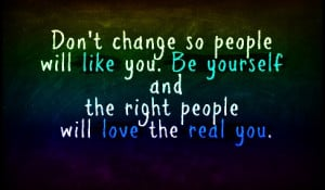 am different Be Yourself Quotes