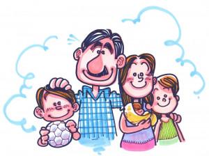 La familia sigue siendo el eje de la sociedad tratando de dar lo mejor ...