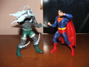 Doomsday vs. Superman Images