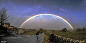 Full Rainbow... with Double above.