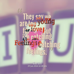 never catch feelings quotes
