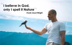 Frank Lloyd Wright, man with bird on hand, person holding bird ...