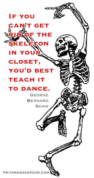Skeletons - George Bernard Shaw
