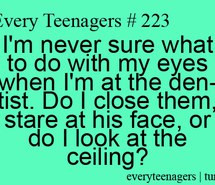 cute, dentist, funny, quotes, reality