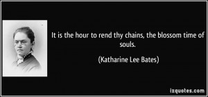 More Katharine Lee Bates Quotes