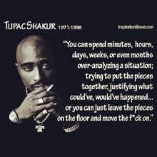 Wise words from one of the realist to do it, RIP#128591;#9757;. Don't ...