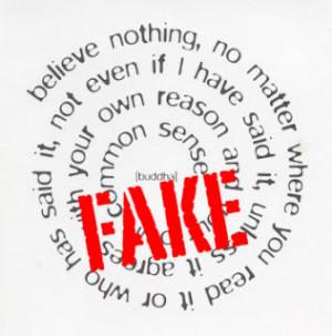 The Buddha on Fake Buddha Quotes (2)