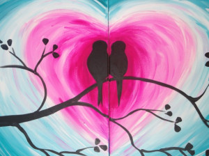 Couples Lovebirds – $65 per couple