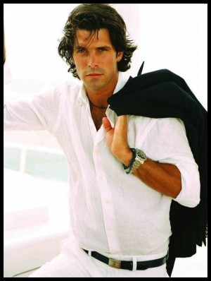 Ralph Lauren Model Nacho Figueras