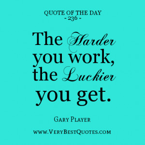 Motivational Quote Of The Day for work