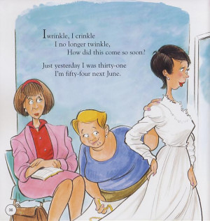 Funny! Mother Goose Tells The Truth About Middle Age