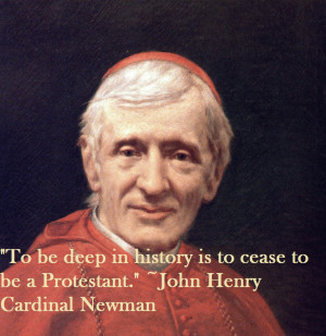 the image of blessed john henry newman a convert from anglicanism