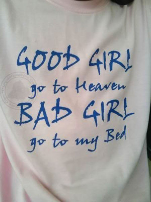 Naughty Quotes: Bad Girl…