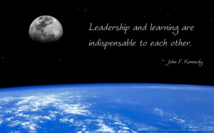 John F. Kennedy quote on Leadership