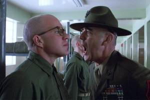 Displaying (16) Gallery Images For R Lee Ermey Yelling...