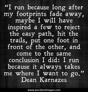 Famous running quotes