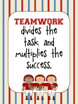 Motivational posters, quotes, sayings, teamwork