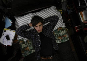 Freddie Highmore in 'The Art of Getting By'