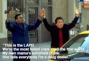 Lee and Carter from #Rush_Hour ( #film #movie #quote )