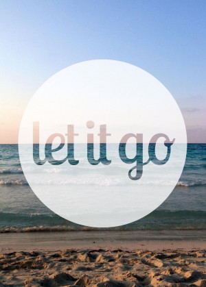 let it go, ocean quote