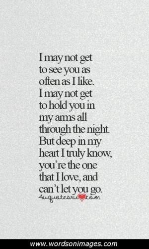 Sad Long Distance Love Quotes