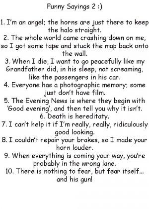 Funny Sayings 2 by GoddessofHockey