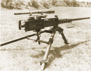 The first .50 cal sniper rifle