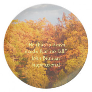 Colorful Leaves Changing Inspirational Quote Plate