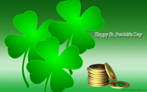 St Patrick's Day Greetings WallPapers