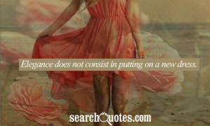 Classy Women Richness Quotes About