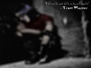 Trent Reznor Quote by maggotlore