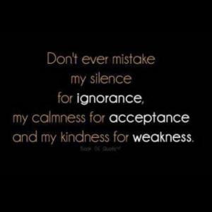 Make no mistake...
