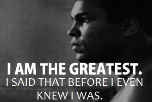Good Morning Sunday: 10 Greatest Muhammad Ali Quotes