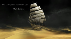 lost. – J.R.R. Tolkien motivational inspirational love life quotes ...