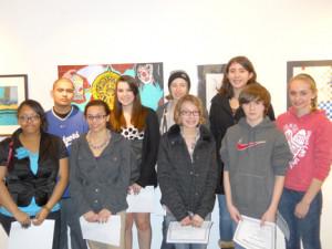 student art exhibit winners