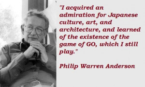 Quotes by Philip Warren Anderson