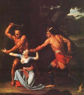 The Death of Jane McCrea ,